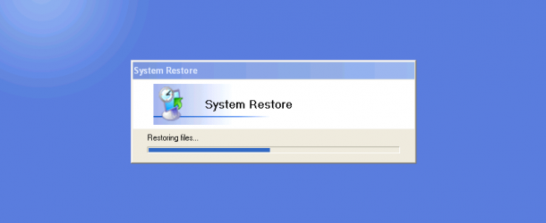 How to system restore your PC
