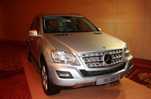 The new Mercedes Benz ML350 CDI is here