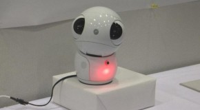 Toshiba introduces ApriPetit – a Robot that talks to you